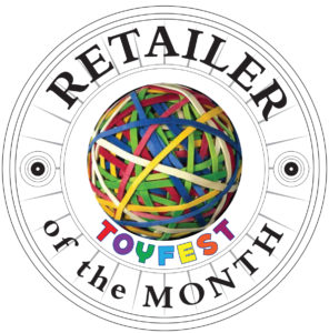ToyFest West Retailer of the Month Seal